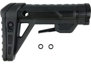 Front View for the Nexus Pro Replacement Stock & 2 O-rings for High Power Toy Foam Dart Blasters